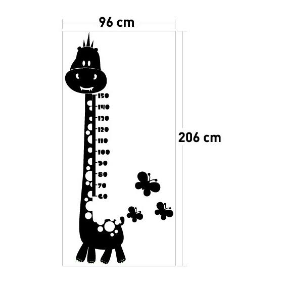 Boy Cetveli 4 Kadife Duvar Sticker 96x206 Cm