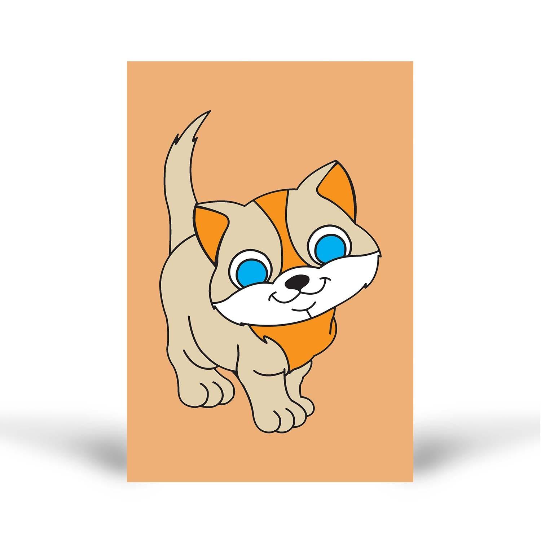 Tuz Boyama Kedi 1 Tuz Boyama