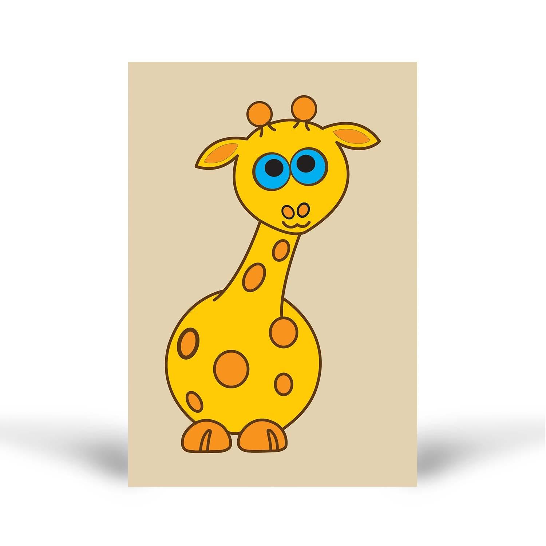Tuz Boyama Zürafa Tuz Boyama
