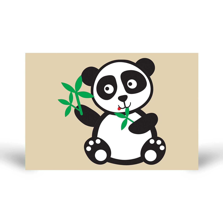 Tuz Boyama Sevimli Panda Tuz Boyama