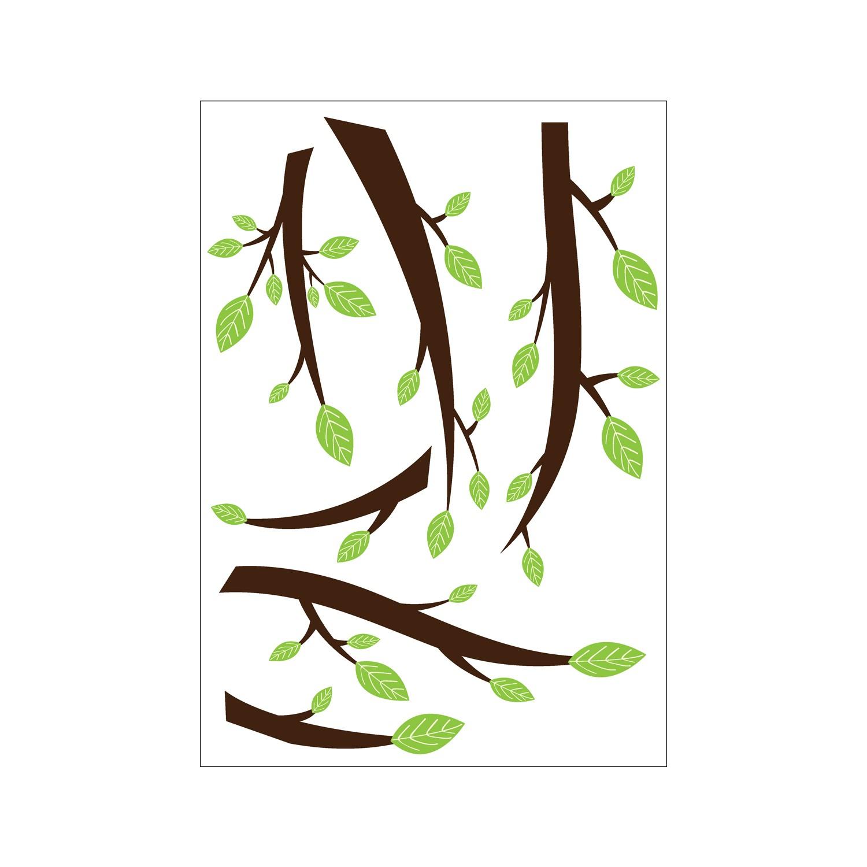 Klozet Sticker Artikel Ağaç Dalları Klozet Sticker