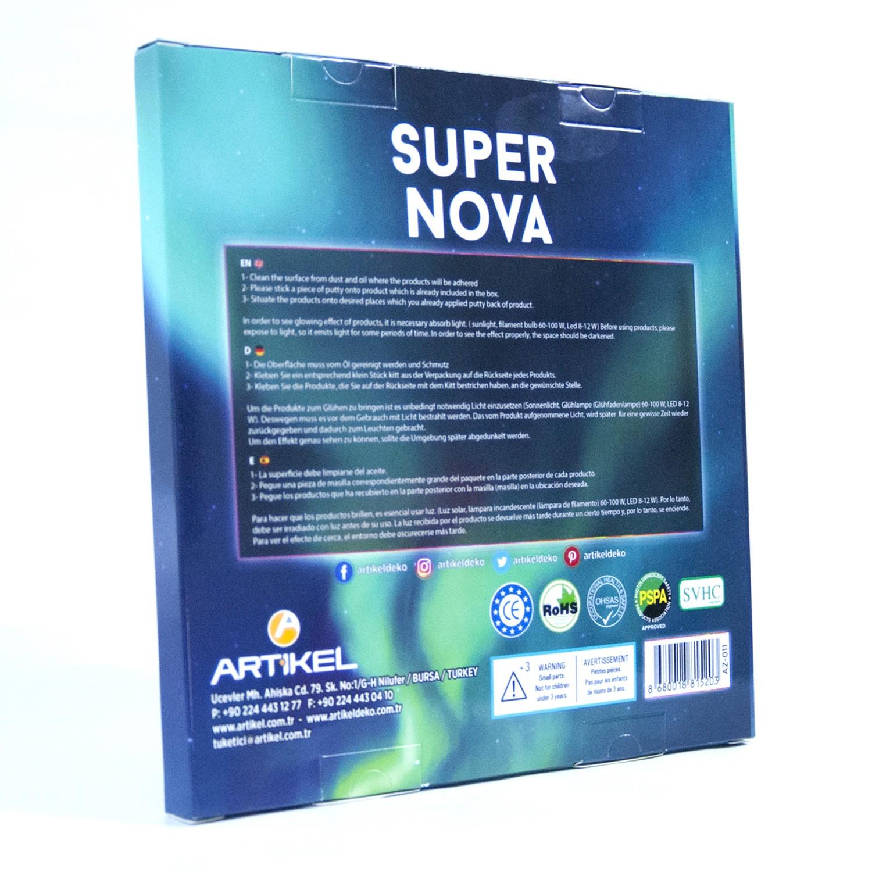 Fosforlu Urunler Super Nova Super Nova Karanlikta Parlayan Ay