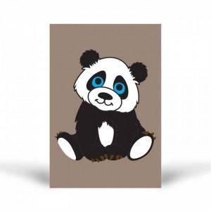 Tuz Boyama Panda 1 Tuz Boyama